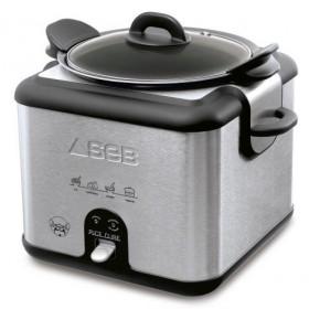 Seb Rice Cube Inox : le cuiseur de riz qui a la classe !