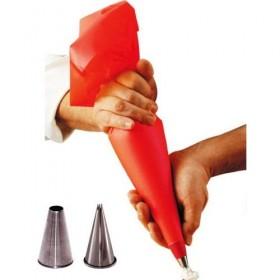 Poche a douille que choisir : jetable, lavable nylon ou silicone ?